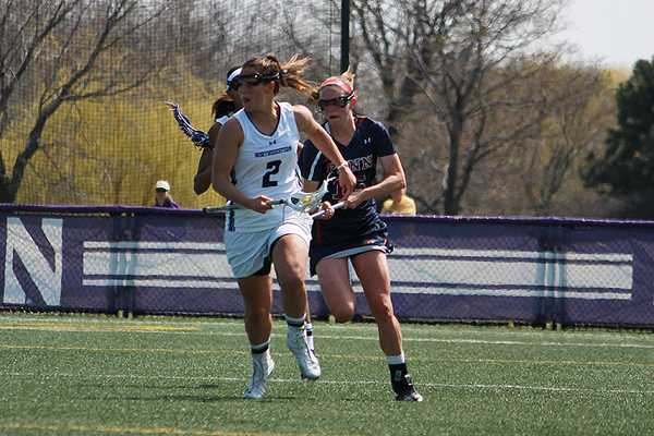 Northwestern midfielder Alyssa Leonard is looking to capture the school record for draw controls in a season. The junior's 283 career draw controls are the most in program history, but she is 8 shy of the single season record of 110 set by Danielle Spencer in 2010.