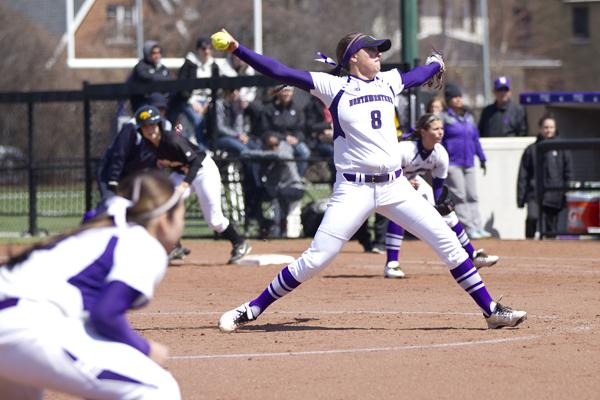 Northwestern pitcher Amy Letourneau picked up two losses this weekend as the Wildcats were swept by Michigan. The sophomore helped her own cause Sunday with a three-run home run, her 12th of the season, to give NU a brief 3-2 lead.