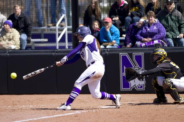 Northwestern third baseman Marisa Bast was named to the All-Big Ten second team. The junior hit 11 homers and led the Wildcats with 42 RBI.