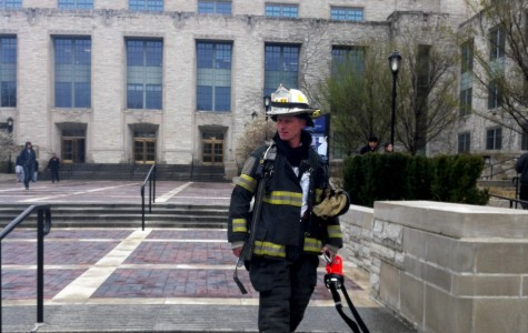 Fire extinguished at Tech lab