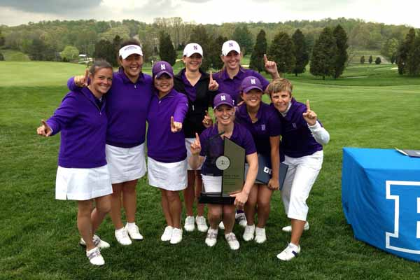 Northwestern women's golf team combined to shoot 4-under par in the final round Saturday to advance to the NCAA Championships. It is the second time in program history, the Wildcats have made it to the championship.