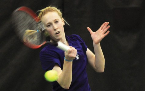 Northwestern senior Kate Turvy won both of her singles matches to help the Wildcats advance to the round of 16 in the NCAA Championships. Turvy won the deciding match Saturday against Baylor with a 6-3, 6-3 win over Victoria Kisialeva.