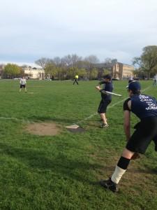 IM Softball: Slivka's deadly defense yields season's first win