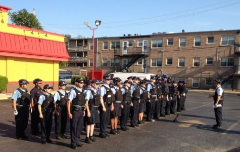 Chicago, Evanston police line up for joint roll call near cities' border