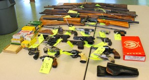Stolen handgun among firearms exchanged at second buyback event