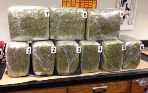 Updated: Evanston police: 100 pounds of pot found in recycling receptacle
