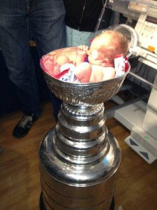 Evanston Hospital patients 'absolutely thrilled' by Stanley Cup visit