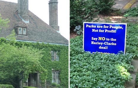 Stage set for City Council showdown over Harley Clarke Mansion