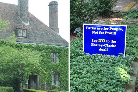 Evanston City Council on Monday night is expected to discuss a controversial plan to sell the Harley Clarke Mansion. Evanston billionaire James N. Pritzker's Tawani Enterprises Inc. is interested in buying the lakefront property, 2603 Sheridan Road, and turning it into a high-end hotel.