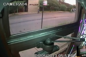 Surveillance video captures moments before, after alleged sexual assault