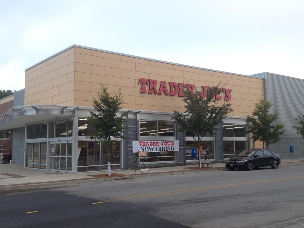 Trader+Joe%27s%2C+1211+Chicago+Ave.%2C+is+expected+to+open+in+early+September.+Construction+has+been+moving+along+more+quickly+than+the+developer+expected.+