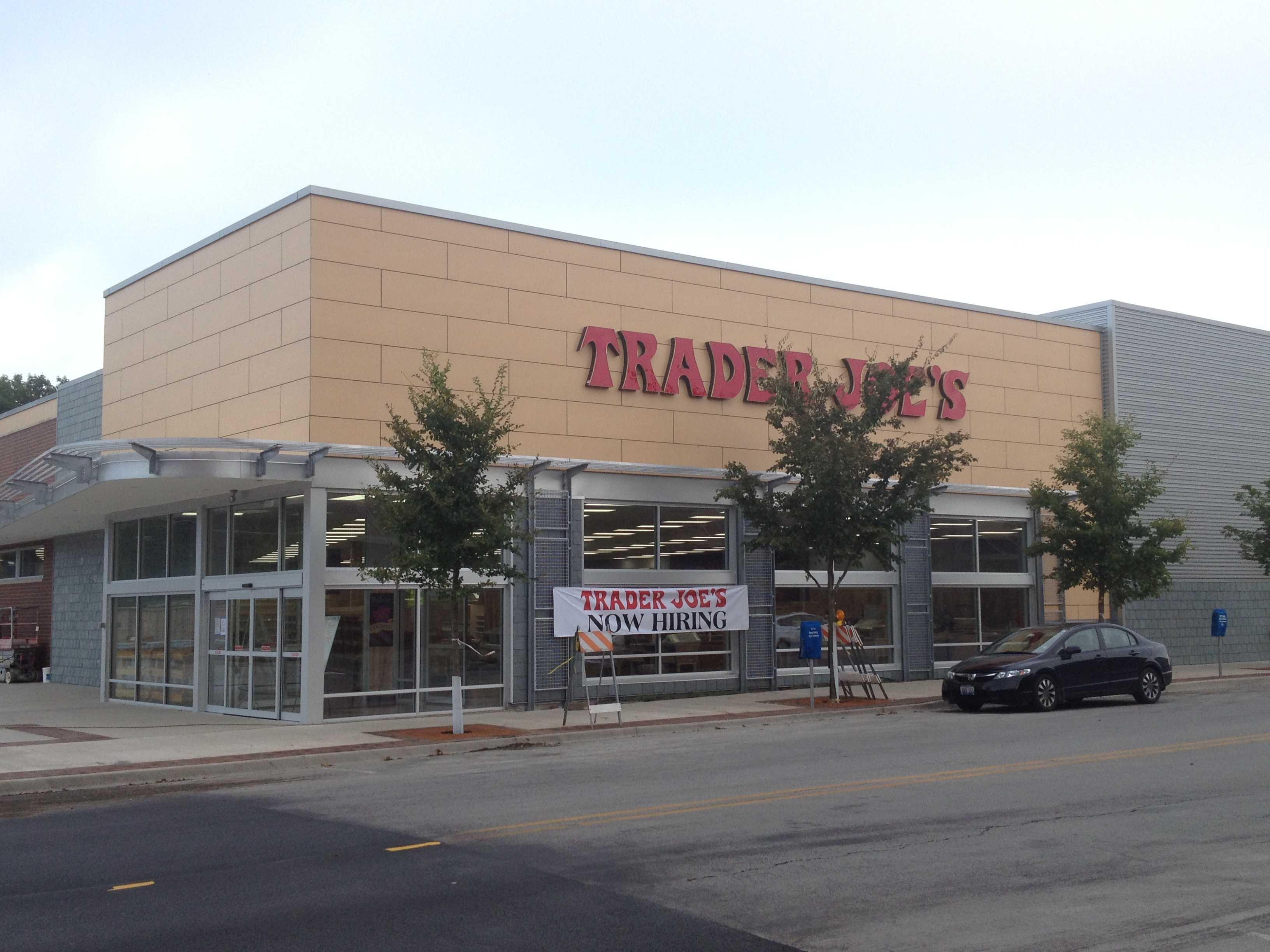 Trader Joe's, 1211 Chicago Ave., is expected to open in early September. Construction has been moving along more quickly than the developer expected.