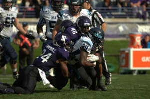 Football: Northwestern secures 35-21 victory against Maine