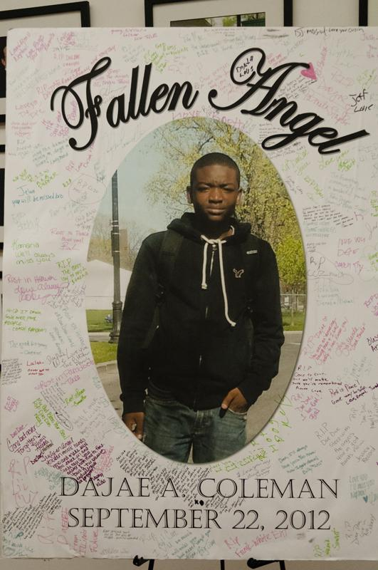The first annual Dae Dae World Weekend honored slain Evanston teen Dajae Coleman. Coleman was shot and killed a year ago Sunday.