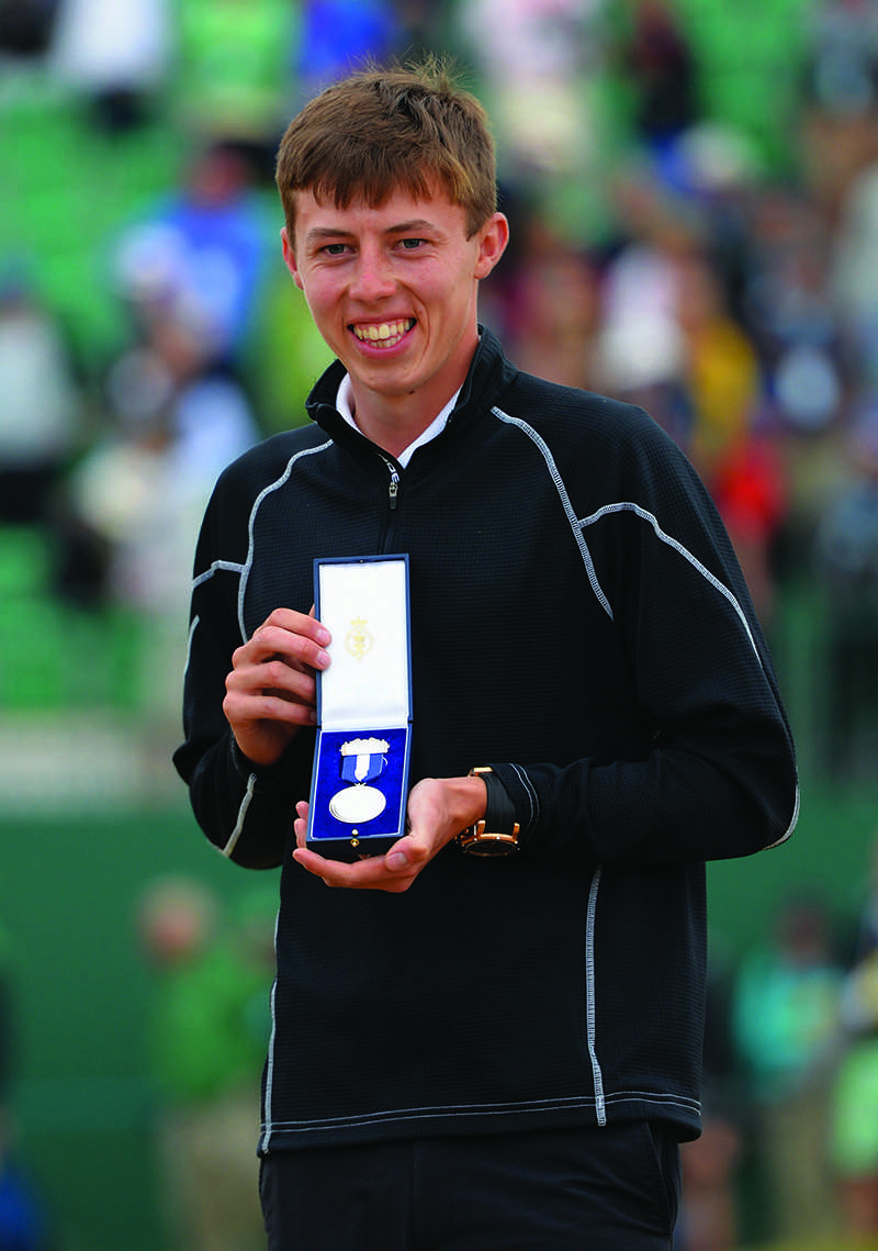 The team's lone freshman, Matt Fitzpatrick arrived with a resume far beyond the average first-year athlete. He was ranked the world's best amateur and won the U.S. Amatuer Championship in August 2013. Last weekend he placed third overall at the Windon Memorial Classic after teammate Jack Perry.