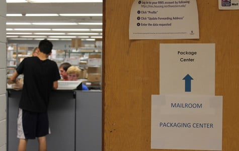 This year, all students must pick up packages at a centralized campus mailroom in Foster-Walker Complex. Paul Riel, executive director for Residential Services, said the new system and use of digital tracking will reduce confusion and lost packages.