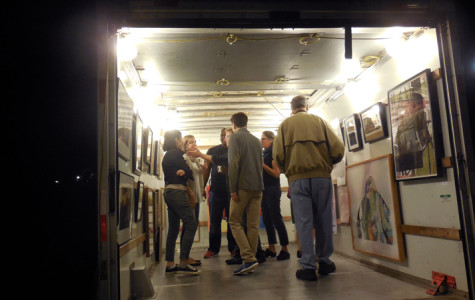 Art community gathers for 5th Artruck gallery