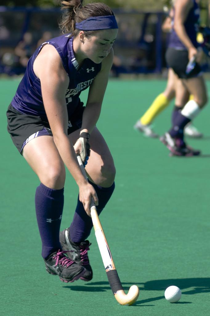 Senior midfielder Julia Retzky is back in action for the Wildcats this weekend against Michigan State. After suffering a facial injury, the Lake Forest, Ill., native will be vital in Northwestern's corner attack and defense.