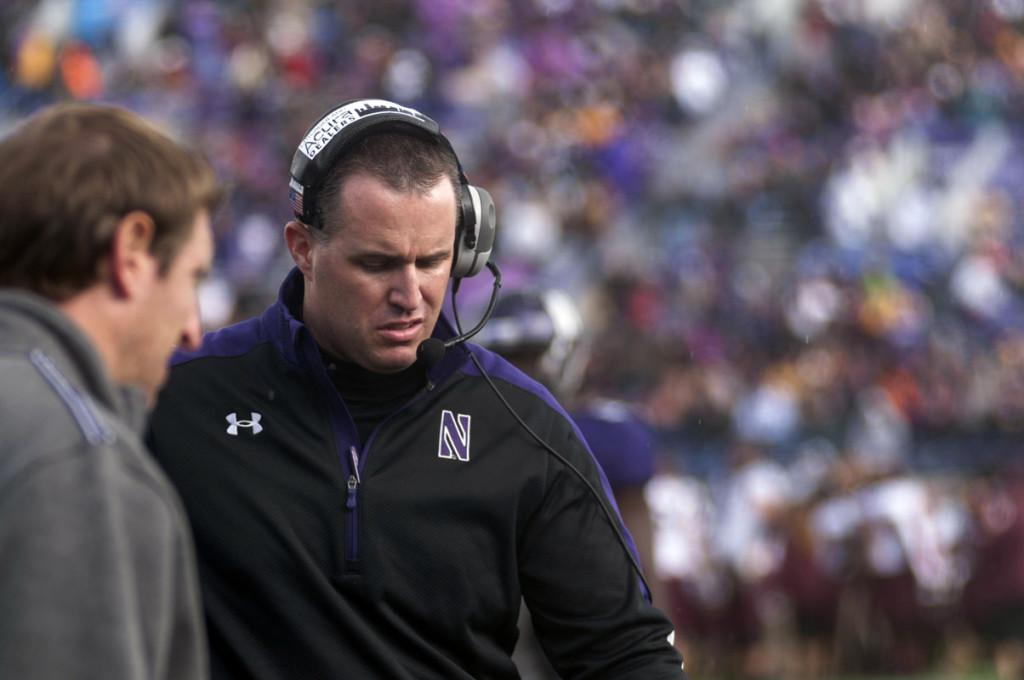 Pat+Fitzgerald+attempted+to+explain+NU%E2%80%99s+recent+offensive+failures+at+his+weekly+press+conference+Monday.+The+coach+questioned+his+team%E2%80%99s+effort+saying%2C+%E2%80%9CIf+I%E2%80%99ve+got+to+coach+effort+for+any+of+our+guys%2C+then+they%E2%80%99re+not+going+to+play.%E2%80%9D