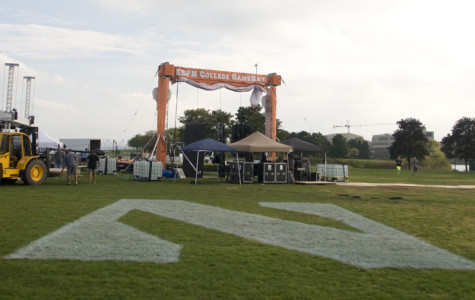 Northwestern prepares for ESPN's 'College GameDay'