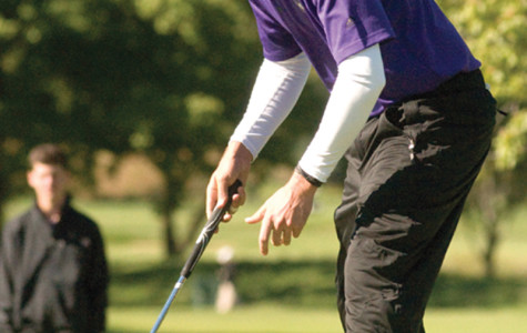 Bennett Lavin was one of several Cats to produce uneven results at the Erin Hills Intercollegiate. Though senior Jack Perry and freshman Matt Fitzpatrick were uncharacteristically inconsistent, the Cats claimed 5th place at the event.