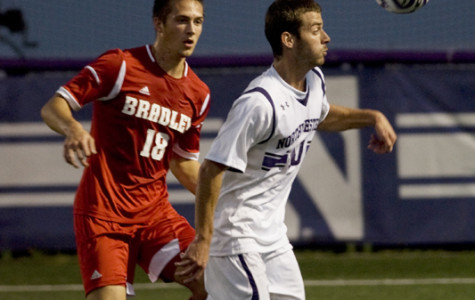 Men's Soccer: Loyola rides the Purple Line north to visit Lakeside Field