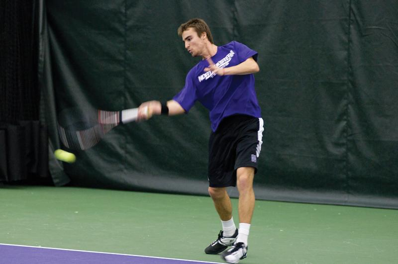 Alex Pasareanu lost in the second round of the ITA All-American Championships in Tulsa, Okla. The junior is one of the new leaders to emerge within a young Wildcat squad that has four freshmen on its nine-man roster.