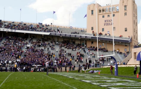Fans cheer on Northwestern during Saturday's game against Minnesota. The athletic department hosted a peanut-free day in an attempt to open the stadium to fans with peanut allergies.