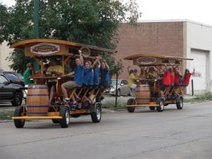 Mobile bar PedalPub considers Evanston move