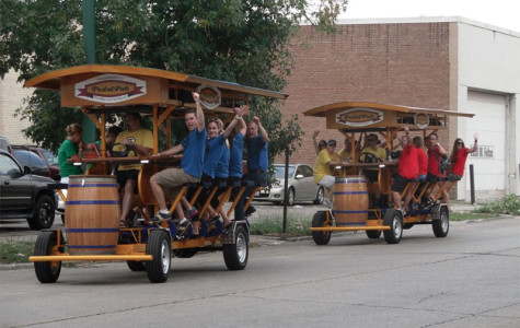 Mobile bar PedalPub considers Evanston move