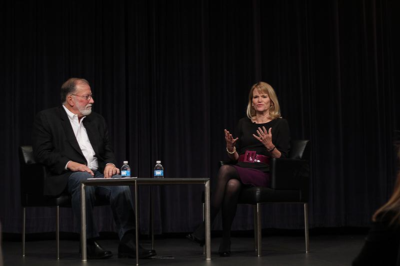 Foreign+correspondent+Martha+Raddatz+speaks+about+importance+of+balance