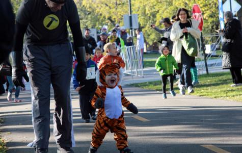 Children, adults run in first Trick or Treat Trot