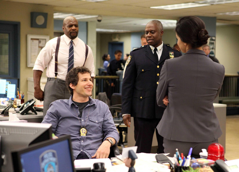 "Andy Samberg stars in ""Brooklyn Nine-Nine,"" one of fall TV's hit shows."
