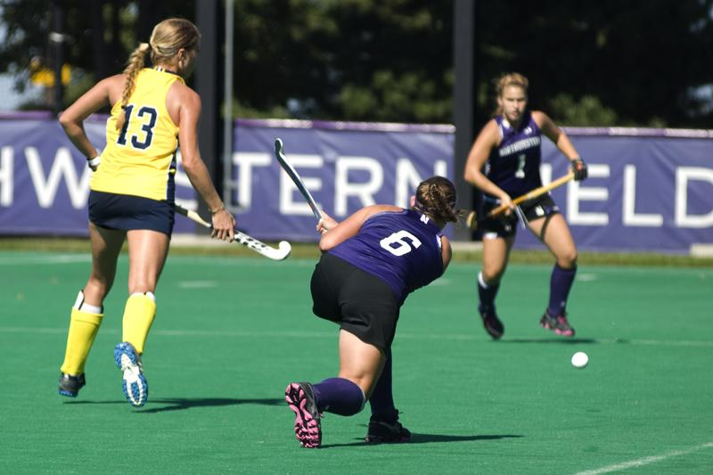 Redshirt junior Kristin Wirtz scored one of Northwestern's goals in its 5-0 victory over Ohio State on Friday. With the win, the Wildcats won a share of the Big Ten regular season title for the first time since 1994.