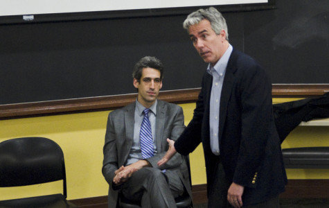 Daniel Biss, Joe Walsh talk freedom at heated College Republicans forum