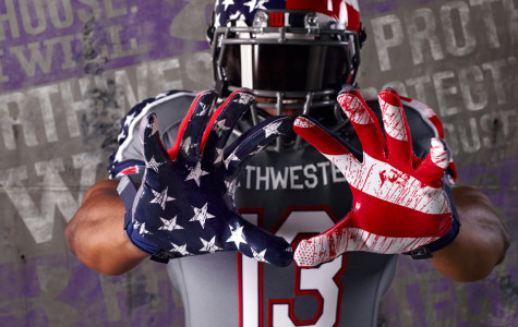 Athletic department defends Veterans Day uniform design