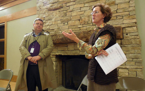 Ald. Jane Grover talks Harley Clarke Mansion, crime with 7th Ward constituents