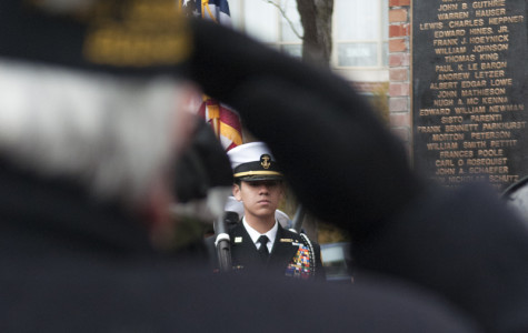 Armed services members honored in Veterans Day ceremony