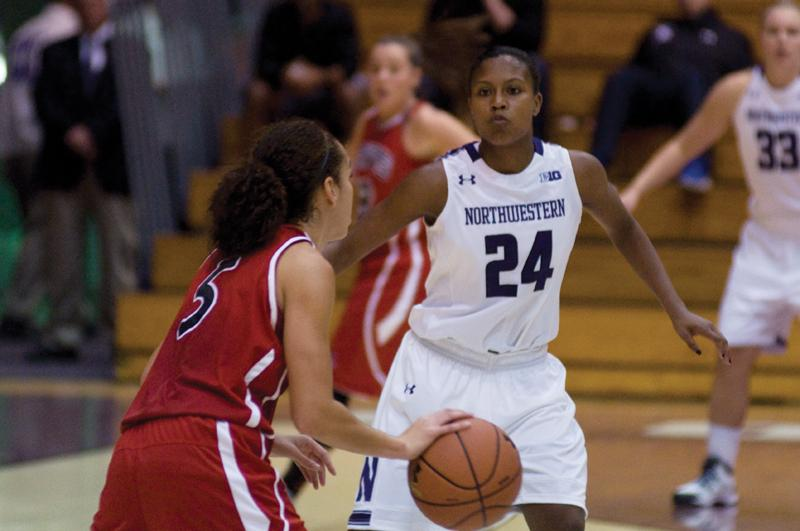 Freshman Christen Inman accrued 21 points in Northwestern's exhibition game against Lewis and was the Wildcats' leading scorer Wednesday. The guard was a perfect 3-for-3 from behind the arc.