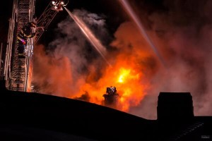 Early morning fire destroys three Davis Street businesses