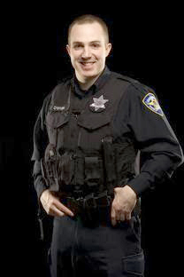Evanston Police Officer Sean O'Brien received a national officer of the month award. He received the recognition after saving a boy in March 2013.