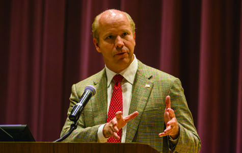 Maryland congressman visits Northwestern, discusses fiscal problems