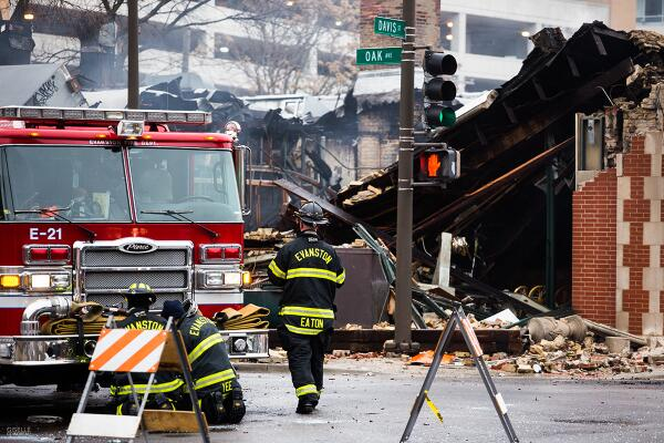 A fire destroyed three Davis Street businesses Dec. 29. The Davis Street Fire Fund has raised $12,000 to support employees of the affected businesses.