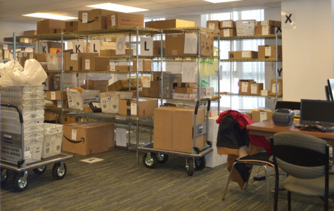 New mailroom facility opens in Kemper Hall