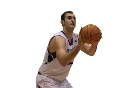 Men's Basketball: With a new post game, Alex Olah steps up his contributions