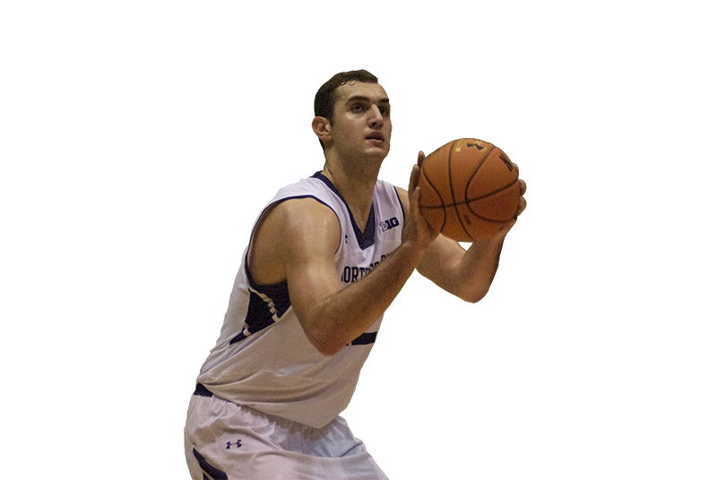 With+a+newfound+post+game%2C+center+Alex+Olah+has+emerged+as+one+of+Northwestern%E2%80%99s+best+players.+The+sophomore+is+averaging+9.1+points+per+game+this+season%2C+and+his+.561+field+goal+percentage+is+seventh+in+the+Big+Ten.