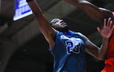 Northwestern wears player-designed basketball uniforms