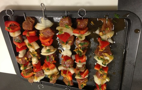 Cooking and Recipes: Tuna kebabs with ginger-chile marinade