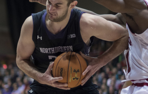 Men's Basketball: Shorthanded Wildcats can't get past Hoosiers