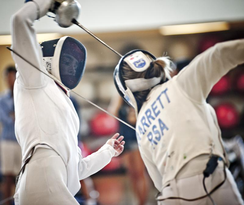 Four Northwestern fencers traveled to Portland, Ore. for the USFA Junior Olympics, an event coach Laurie Schiller used to scout potential future Wildcat fencers.